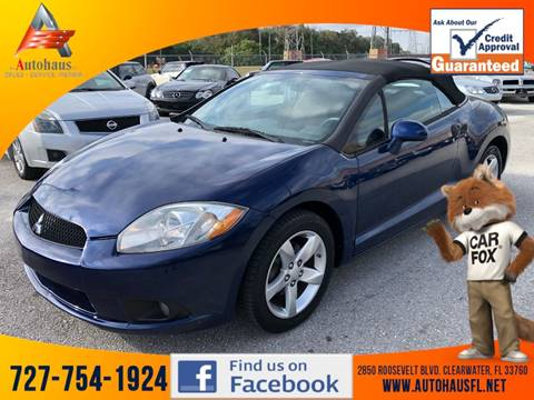 2009 Mitsubishi Eclipse Spyder GS for sale at DAS Auto Haus in Clearwater FL