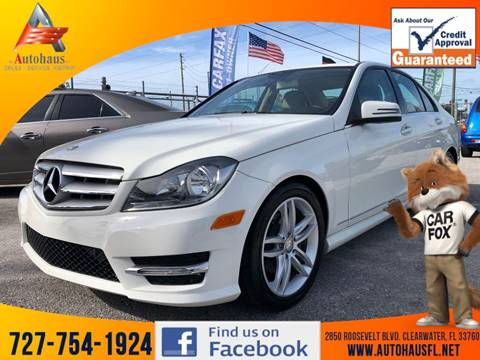 2012 Mercedes-Benz C-Class C 250 Luxury for sale at DAS Auto Haus in Clearwater FL