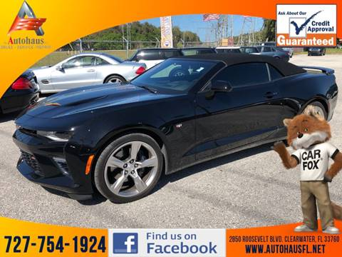 2017 Chevrolet Camaro SS for sale at DAS Auto Haus in Clearwater FL