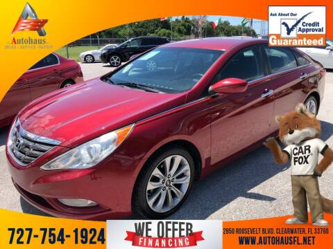 2011 Hyundai Sonata for sale at Das Autohaus Quality Used Cars in Clearwater FL