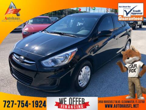 2016 Hyundai Accent for sale at Das Autohaus Quality Used Cars in Clearwater FL