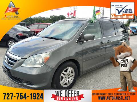2007 Honda Odyssey for sale at Das Autohaus Quality Used Cars in Clearwater FL