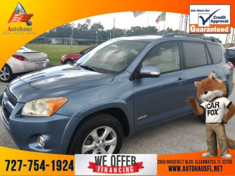 2010 Toyota RAV4 for sale at Das Autohaus Quality Used Cars in Clearwater FL