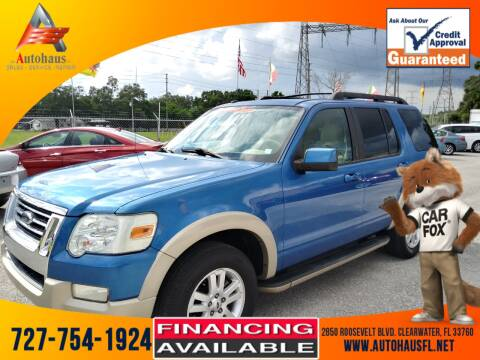2010 Ford Explorer for sale at Das Autohaus Quality Used Cars in Clearwater FL