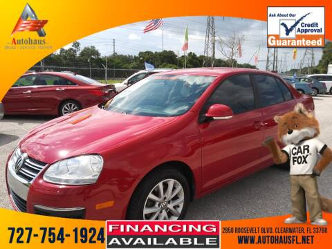 2010 Volkswagen Jetta for sale at Das Autohaus Quality Used Cars in Clearwater FL