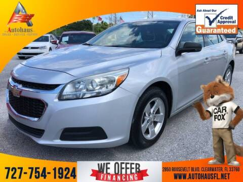 2016 Chevrolet Malibu Limited for sale at Das Autohaus Quality Used Cars in Clearwater FL