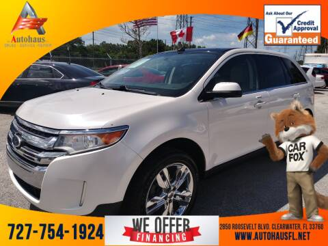 2011 Ford Edge for sale at Das Autohaus Quality Used Cars in Clearwater FL