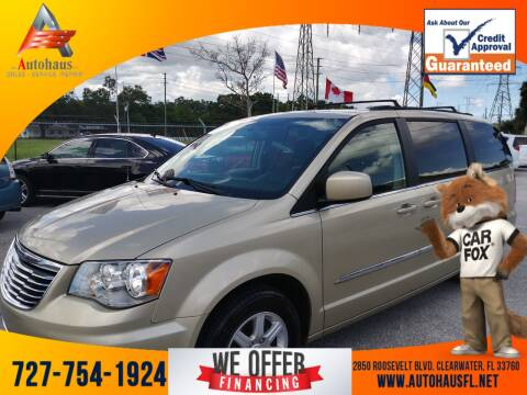 2012 Chrysler Town and Country for sale at Das Autohaus Quality Used Cars in Clearwater FL