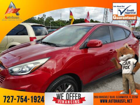 2015 Hyundai Tucson for sale at Das Autohaus Quality Used Cars in Clearwater FL