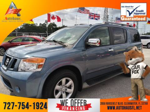 2012 Nissan Armada for sale at Das Autohaus Quality Used Cars in Clearwater FL