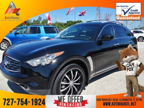 2010 Infiniti FX35 for sale at Das Autohaus Quality Used Cars in Clearwater FL