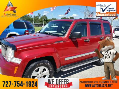 2010 Jeep Liberty for sale at Das Autohaus Quality Used Cars in Clearwater FL