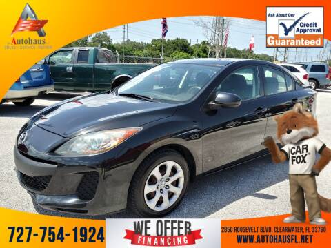 2013 Mazda MAZDA3 for sale at Das Autohaus Quality Used Cars in Clearwater FL