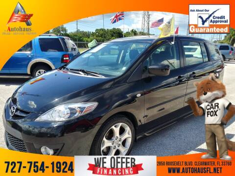 2009 Mazda MAZDA5 for sale at Das Autohaus Quality Used Cars in Clearwater FL
