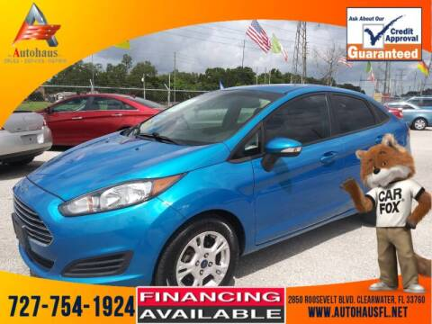 2014 Ford Fiesta for sale at Das Autohaus Quality Used Cars in Clearwater FL