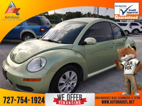 2009 Volkswagen New Beetle for sale at Das Autohaus Quality Used Cars in Clearwater FL