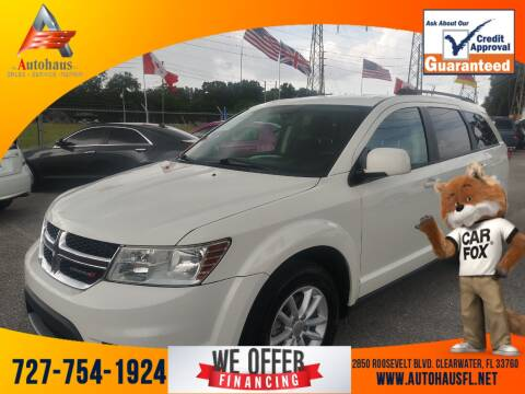 2017 Dodge Journey for sale at Das Autohaus Quality Used Cars in Clearwater FL