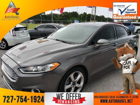 2014 Ford Fusion for sale at Das Autohaus Quality Used Cars in Clearwater FL
