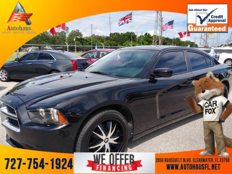 2014 Dodge Charger for sale at Das Autohaus Quality Used Cars in Clearwater FL