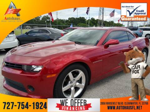 2014 Chevrolet Camaro for sale at Das Autohaus Quality Used Cars in Clearwater FL