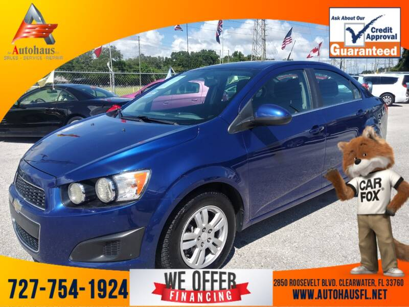 2014 Chevrolet Sonic for sale at Das Autohaus Quality Used Cars in Clearwater FL