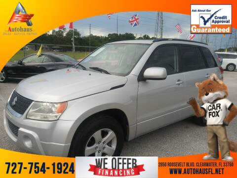2010 Suzuki Grand Vitara for sale at Das Autohaus Quality Used Cars in Clearwater FL