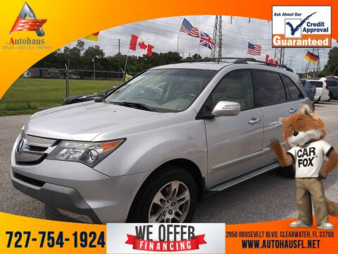 2007 Acura MDX for sale at Das Autohaus Quality Used Cars in Clearwater FL