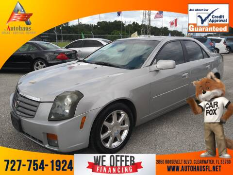 2003 Cadillac CTS for sale at Das Autohaus Quality Used Cars in Clearwater FL