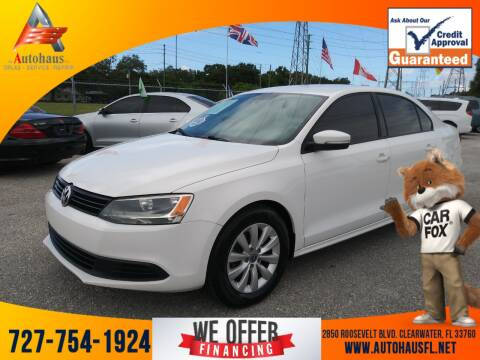 2012 Volkswagen Jetta for sale at Das Autohaus Quality Used Cars in Clearwater FL