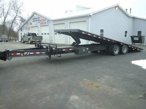 2009 PJ 30' Tilt Deckover for sale at AFFORDABLE AUTO SVC & SALES in Bath NY
