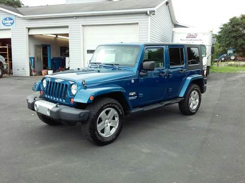 2009 Jeep Wrangler Unlimited for sale in Bath, NY
