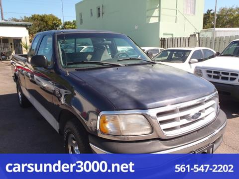 1999 Ford F-150 for sale in Lake Worth, FL