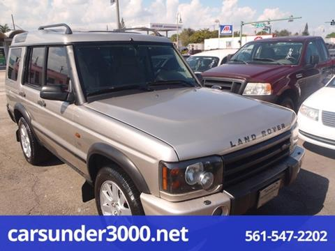 2003 Land Rover Discovery for sale in Lake Worth, FL