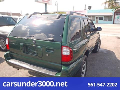 2001 Isuzu Rodeo for sale in Lake Worth, FL