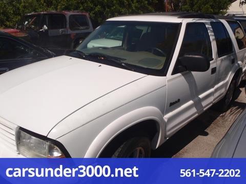 2000 Oldsmobile Bravada for sale in Lake Worth, FL
