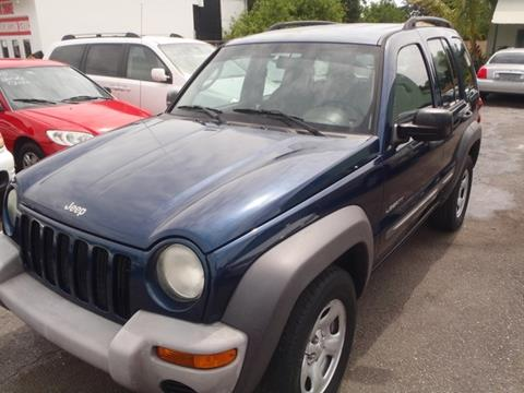 2004 Jeep Liberty for sale in Lake Worth, FL