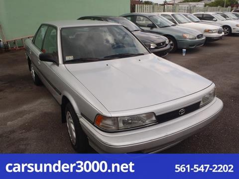 1991 Toyota Camry for sale in Lake Worth, FL