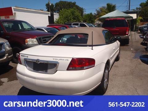 2005 Chrysler Sebring for sale in Lake Worth, FL