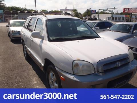 2001 Hyundai Santa Fe for sale in Lake Worth, FL