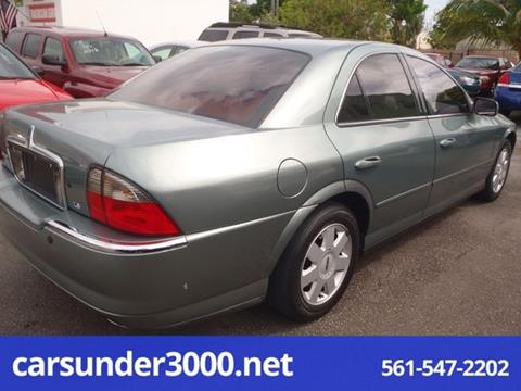 2005 Lincoln LS for sale in Lake Worth, FL