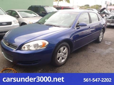 2006 Chevrolet Impala for sale in Lake Worth, FL