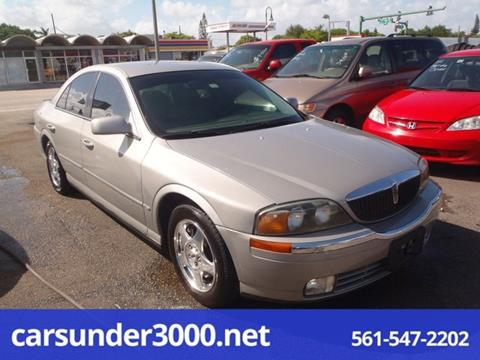 2001 Lincoln LS for sale in Lake Worth, FL