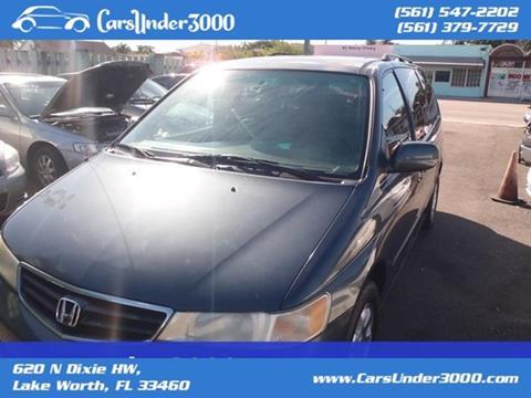 2004 Honda Odyssey for sale in Lake Worth, FL