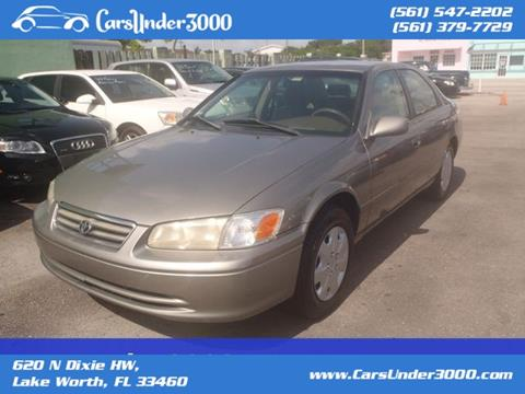 2000 Toyota Camry for sale in Lake Worth, FL