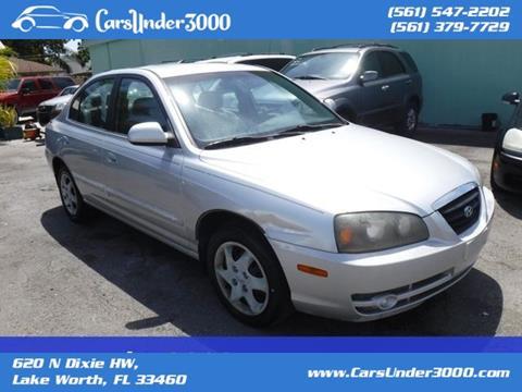 2004 Hyundai Elantra for sale in Lake Worth, FL