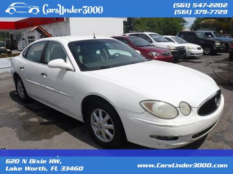 2005 Buick LaCrosse for sale in Lake Worth, FL