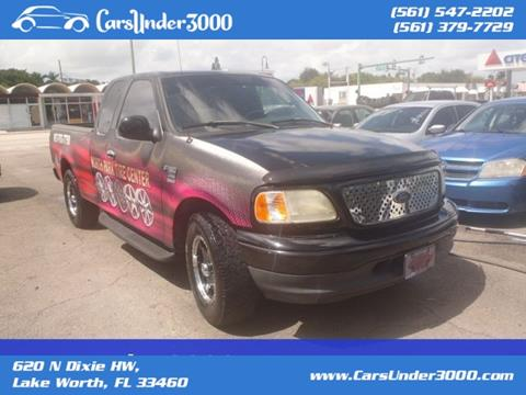 2002 Ford F-150 for sale in Lake Worth, FL