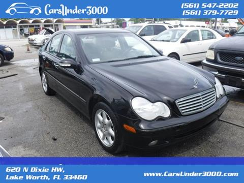 2004 Mercedes-Benz C-Class for sale in Lake Worth, FL