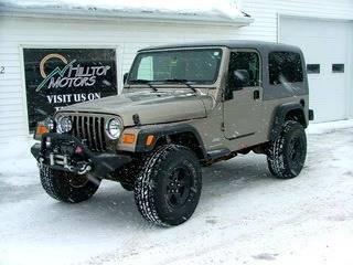 2006 Jeep Wrangler for sale at HILLTOP MOTORS INC in Caribou ME