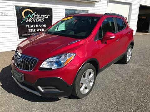 2016 Buick Encore for sale at HILLTOP MOTORS INC in Caribou ME